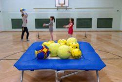 Neue Ausstattung für den Turnsaal der Volksschule #Spende