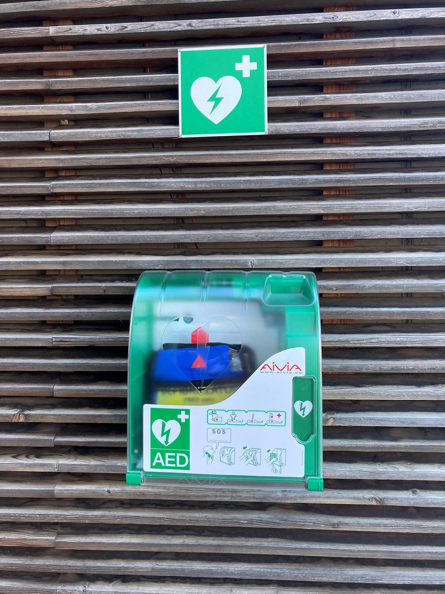 Defibrillator (Defi) neu am Stattegger Dorfplatz