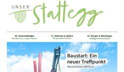 Die neue Gemeindezeitung – in Kürze in allen Stattegger Postkästen