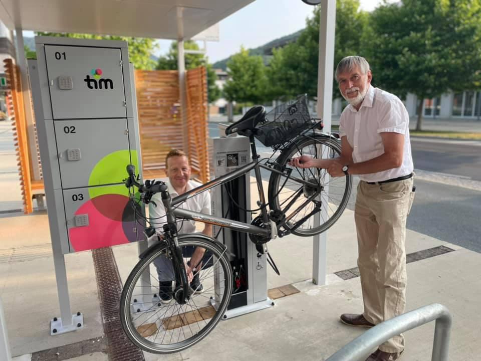 TIM Fahrradstation